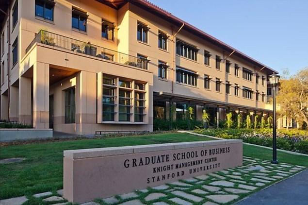 stanford graduate school business application essays
